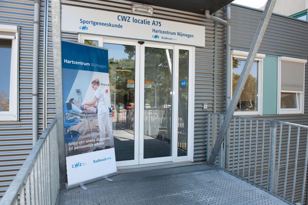 Ingang Hartcentrum Nijmegen